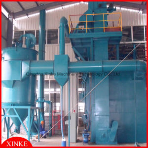 Circular Hoist Lifting Type Shot Blast Cleaning Machine pictures & photos