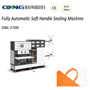 Non Woven Fabric Soft Handle Sealing Machine pictures & photos