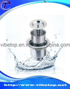 High Quality Stainless Steel Kitchen/Bathroom Sink Drainer pictures & photos