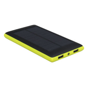 LED Lighting Portable Power Bank with Solar system (LCPB-SS009) pictures & photos
