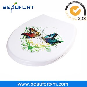 HD Inkjet Bftc016 UF Soft Close Toilet Seat