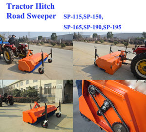 Farm Tractor Mounted Nylon Brush Pto Road Sweeper pictures & photos