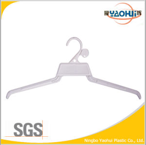 Cheap Plastic Cloth Hanger with Plastic Hook for Display (45cm) pictures & photos