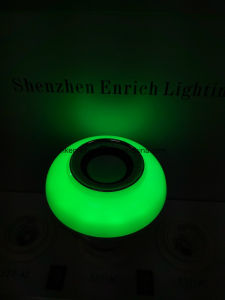 Smart Bluetooth Speaker Fantastic Music E27 Base LED Lamp with RGB Colors LED Lights pictures & photos