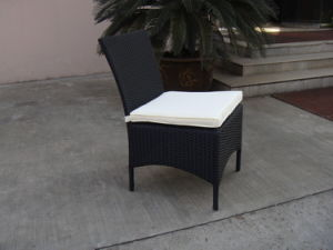 Outdoor Rattan Chair/Stacktable Chair W/Cushion/Wicker Chair/Armless Chair pictures & photos