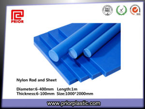 Good Wear-Resistant Blue Nylon Polyamide Rod pictures & photos