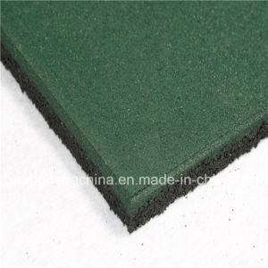 Wearing-Resistant Rubber Tile/Interlocking Rubber Tiles/Colorful Rubber Tile pictures & photos