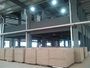 Hollow Core Particle Board Line pictures & photos
