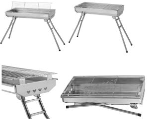 Portable and Foldable Charcoal BBQ Grill (TM-OM7) pictures & photos