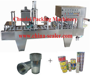 Bg Automatic Tray Filling Sealing Machine pictures & photos