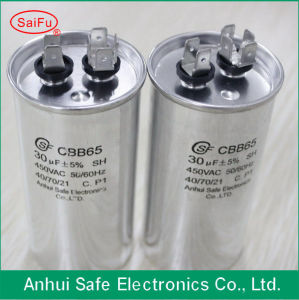 Aluminum AC Motor Starting Capacitor with Oval Shape pictures & photos