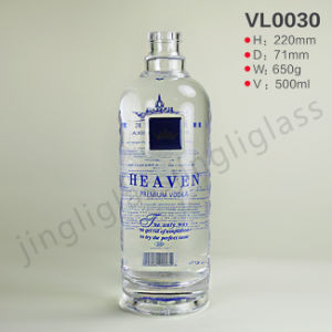 High Grade Glass Vodka Bottle for Vodka pictures & photos
