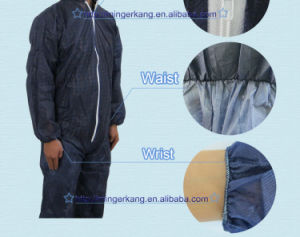 100% Polypropylene Disposable Non Woven Coverall Supplier pictures & photos