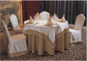 Hotel Banquet Table Cloth and Chair Cover pictures & photos