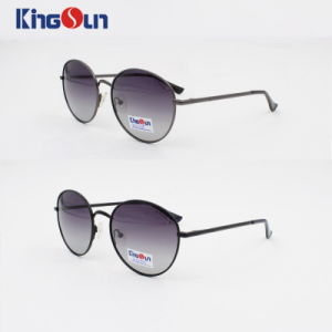 Round Shape Unisex′s Metal Sunglasses with Mono Block Temple Ks1105 pictures & photos