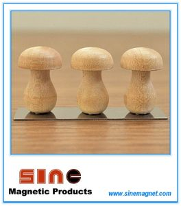 New Wooden Mushroom Shape Fridge Magnet pictures & photos