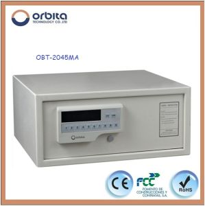 Electronic Safe with Digital Code, Metal Safe Boxes for Hotel Deposit (OBT-2045mA) pictures & photos