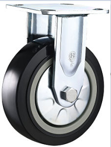"Heavy Duty PU Swivel Caster 4""-8"" High Capacity Double Ball Bearing pictures & photos"