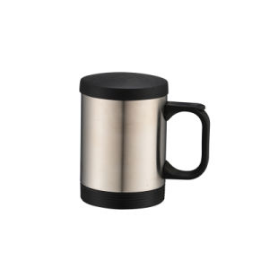 Stainless Steel Travel Mug Coffee Mug with Handle pictures & photos