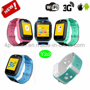 3G/WiFi Wristwatch Smart Kids GPS Tracker Watch with Sos Y20 pictures & photos