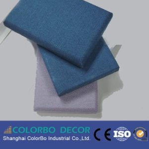 MDF Board Anti-Fire Fabric Acousttic Panel pictures & photos