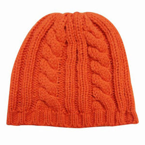 Lady Fashion Wool Acrylic Knitted Winter Warm Hat (YKY3104) pictures & photos