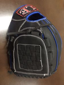 Professional Black Baseball Glove (03) pictures & photos
