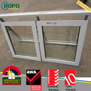 Australian Standard As2047 UPVC Double Glazed Awning Windows pictures & photos
