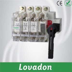 Hglr Series 160A 380V 4p Load Isolation Switch pictures & photos