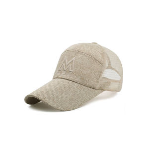 Straw Mesh Baseball Hat Wholesale pictures & photos