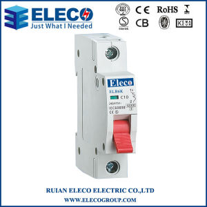 Hot Sale Mini Circuit Breaker with Ce (ELB6K Series) pictures & photos