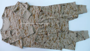 Autumn&Winter Sleepwear in Camouflage Color pictures & photos