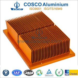 High Quality Aluminium/Aluminum Profile for Skived Heatsink of Refrigeration (BG-009) pictures & photos