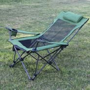 Comfortable Beach Chair, Portable Deck Chair, 600d Oxford Folding Chair with Mesh Folding Adjustable