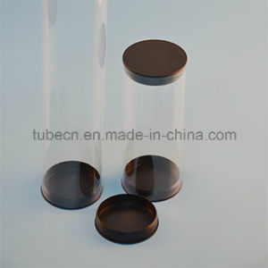 Food Clear Plastic Packaging Tube pictures & photos
