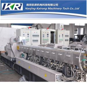 Plastic PVC Compounding Extruder Machine Price pictures & photos
