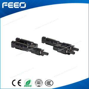 China Supplier 2 Pin Waterproof Low Voltage Plastic T Connector pictures & photos