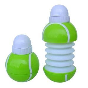 450ML Collapsible Water Bottle, Foldable Ball-Shape Sports Water Bottle pictures & photos