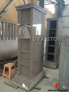 5 Niches Pink Granite Columbarium / Columbaria pictures & photos