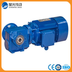 Right Angle Hollow Shaft Mounted Helical Gear Reducer pictures & photos