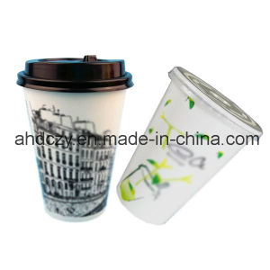 High Quality7oz Disposable Plastic Cup with Lid for Sale pictures & photos
