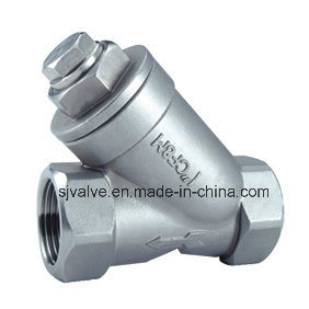 Stainless Steel Y Type Female Thread Strainer pictures & photos