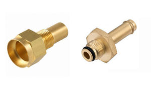 Brass Metal Nipple Turning Machined pictures & photos