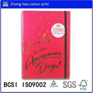 A5 Notebook/DOT Jurnal Spiral Binding Notebook with Black Elastic/Planner Book/ Stone Book/Spiral Binding Notebook (150526002)