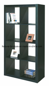 Modern Wooden UV High Gloss Bookcase (5019) pictures & photos