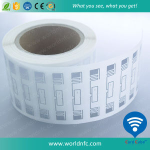 Factory Sell Blank Paper UHF 915MHz H3 RFID Sticker for Warehouse Management pictures & photos