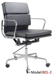 Eames Leather Office Furniture Aluminium Hotel Meeting Office Chair (E01-2) pictures & photos