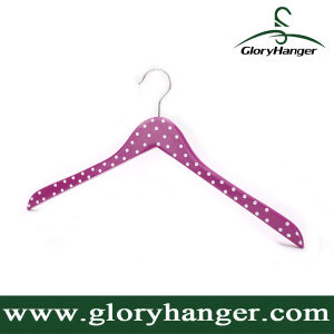 Fsc Wood Suit Clothing Hanger for Woman Garment with Metal Hook (GLWH007) pictures & photos
