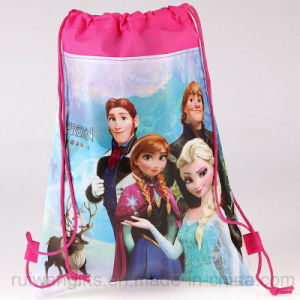 Wholesale Frozen Cartoon Drawingstring Pouch for Kids pictures & photos