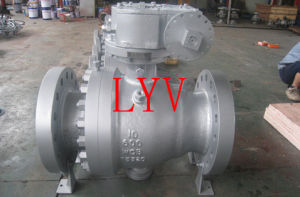 Flanged Trunnion Cast Steel Ball Valve